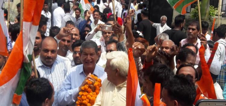 भाजपा की केंद्र व राज्य सरकार किसान व आमजन विरोधी : कांग्रेस
