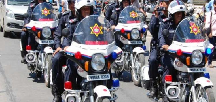 C.P.U.पुलिस यातायात जाम की समस्या व अपराधों पर अंकुश लगाये जाने के लिये है अस्थाई व्यवस्था