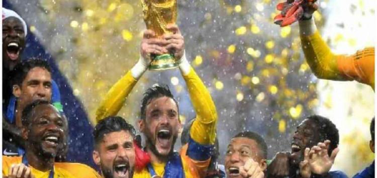 FIFA 2018: फ्रांस ने क्रोएशिया को 4-2 से हरा दूसरी बार जीता विश्व कप