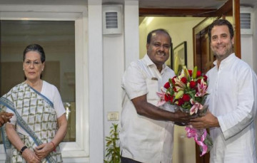 सोनिया-राहुल से कुमारस्वामी की मुलाकात के बाद कर्नाटक में सरकार का फार्मूला तैयार