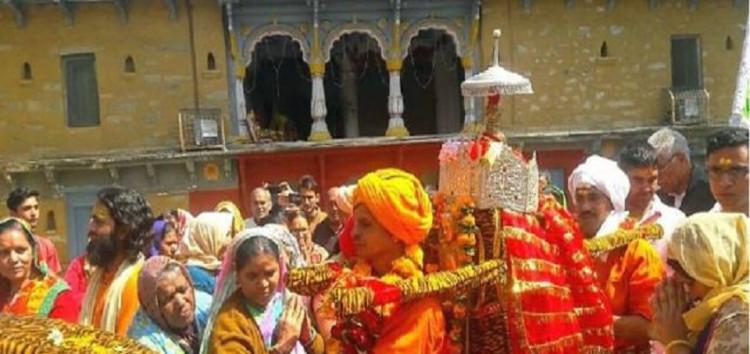 चतुर्थ केदार भगवान रुद्रनाथ की डोली हिमालय को निकली