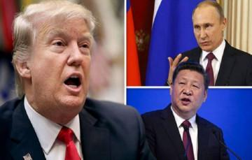 अमेरिका ने रूस और चीन की कंपनी पर लगाया प्रतिबंध