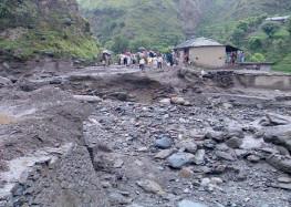 जोशीमठ -मलारी के बीच भाप कुंड में फटा बादल 5 लोग बहे