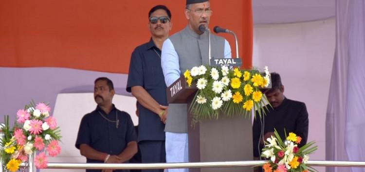 राज्य हित में टीम भावना से काम किए जाने की ज़रूरत : मुख्यमंत्री