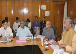 विकास कार्यों में शिथिलता बरदाश्त नहीं: मुख्यमंत्री