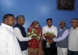 भाजपा नेताओं से दोस्ती के चलते मोहम्मद शहजाद बसपा से निष्कासित