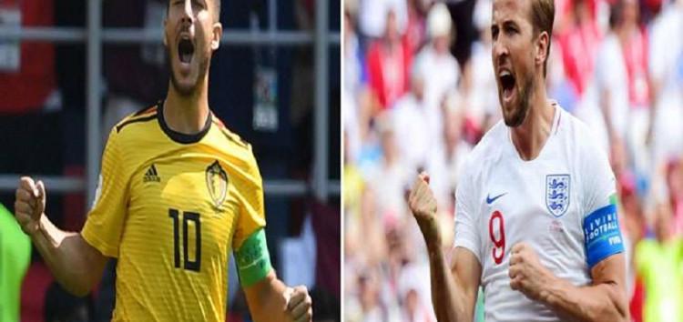 बेल्जियम और इंग्लैंड के बीच तीसरे स्थान के लिए होगी जंग