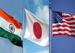 अमेरिका, जापान और भारत के संयुक्त नौसैनिक अभ्यास से बेचैन चीन