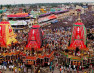 जगन्नाथपुरी की वर्ल्ड हेरिटेज रथ यात्रा शुरू