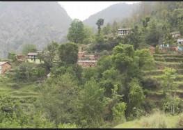 सरकारी उदासीनता का शिकार बना रुद्रप्रयाग जिले का कैलब गांव में सिर्फ दो परिवार शेष !
