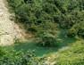 पहाड़ी टूटकर नाले में गिरा और बन गयी गहरी झील