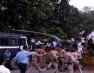 NSUI के छात्रों के सीएम आवास कूच को पानी की बौछार से पुलिस ने रोका