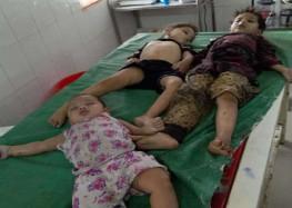तीन बच्चों को गंगनहर में फेंक खुद भी कूद गयी महिला