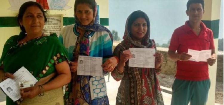 थराली विधानसभा उप चुनाव के लिए पांच बजे तक हुआ लगभग 53.43 फीसदी से ज्यादा मतदान